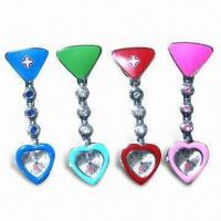 China Promotional Watch/Heart-shaped Nurse Watch, Customized Colors and Logos are Accepted wholesale