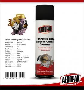 China Aeropak 500ml car carb choke Carburetor Cleaner Spray wholesale