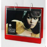 China red calender 6x8 acrylic photo frame wholesale