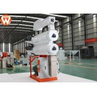 China Poultry Feed Pellet Production Line 0.9-12mm With Crumbler Machine Double Steam Conditioner wholesale