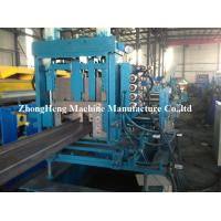 China 3 Roller Z Purlin Roll Forming Machine For Large Warehouse 2 - 3mm Thickness wholesale