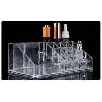 Buy cheap Acrylic Holder 16 Storage Box For Tattoo Ink Permanent Makeup Display Shelf from wholesalers