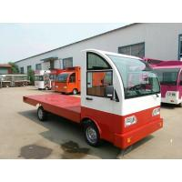 Buy cheap Battery operated platform truck 3Ton Loading Capacity with guardrail from wholesalers