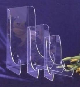 China Hot Sale Acrylic Plate Display Stand Acrylic Displays With Fashion Shape wholesale
