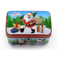 China Vintage Christmas storage tins for gift wholesale
