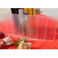 China Ultra White Solar Panel Glass / Low Iron Tempered Safety Glass For Solar Collector wholesale