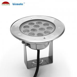 China Warm White Underwater LED Spotlights , 24V IP68 Underwater Led Fishing Lights 9W wholesale