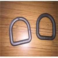China Forged Steel Safety D Rings / Lifting D Rings One Way Buckle LC8KN Stamping wholesale