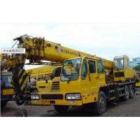 China Emission Standart Euro2 , 25T Large Truck Mounted Crane With Big Torque Starting Point wholesale