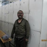 China 2 Tier Beige Colliery Employee Storage Lockers With Cam Lock H2000 * W1112 * D450mm wholesale