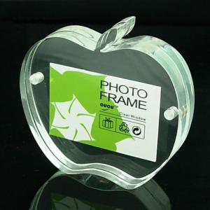 China acrylic frameless photo frame wholesale