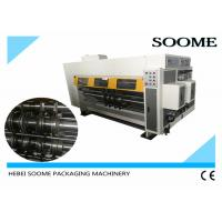 China Small Flexo Printer Slotter Die Cutter Flexo Printing And Die Cutting Machine on sale