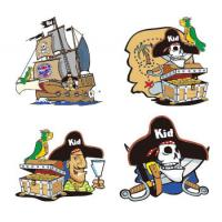 China Cartoon Style Temporary Body Tattoo Stickers Water Proof For Children wholesale