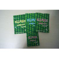 China Klimax 10g Strawberry & Blueberry Potpourri Herbal Incense Bags Ziplock Packaging wholesale