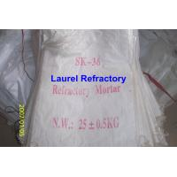 China Unshaped Refractory Mortar Series , Basic / Acidic Refractories wholesale