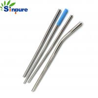 China Flexible Telescopic Rod Antenna Straw Stainless Steel 304 With Cleaning Brush on sale