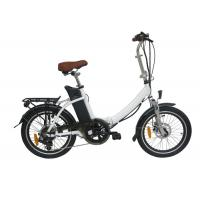 China Student Mini Foldable Electric Bicycle / Bikes Light weight Lithium Battery wholesale
