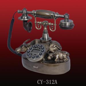 China antique telephone ,resin telephone,CY-312A, communication tools telephone wholesale