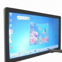 China High resolution touchscreen advertising display 65-inch interactive LCD touchscreen monitor wholesale
