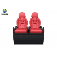 China Electric 5D Movie Theater System 5D Motion Chair With Vibration Push back Leg tickler wholesale