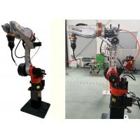 China Intelligent Arc Welding Robot Automatic Wire Feeding For Automobile Frame wholesale