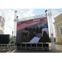 China Constant Current Outdoor Rental Led Screen Smd3528 With Good Video Effect wholesale