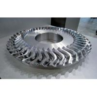 China Metal Material Impeller Parts With 5 Axis Machining Faster Cutting Speed wholesale