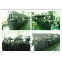 China Lubricating Oil Bottle Automatic Screen Printing EquipmentMulti Colors Printing wholesale