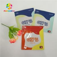 Quality Printed Zipper Resealable Plastic Bag Packaging Cbd Gummy Candy Pouch Glossy for sale
