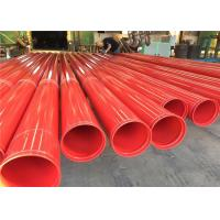 China Astm A53 Astm A500 Gr.A, Gr.B, Gr.C Astm 5l Astm A795 Carbon Welded Pipe With Groove And Thread For Fire System Usage wholesale