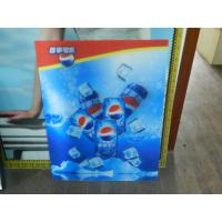 China PS lenticular material large size 3d poster large format lenticular advertising poster 3d flip printing wholesale