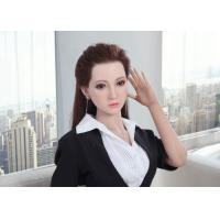 China Silicone Sex Doll Asian Girl Adult Love Dolls 160cm Life Size Realistic doll with Implanted Hair wholesale