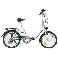 China Electric 20 inch folding bike With 24V / 10Ah li-ion battery  , Shimano 6 or 7 speed wholesale