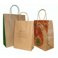 Quality Cheap paper bag kraft paper bag_China printing factory for sale