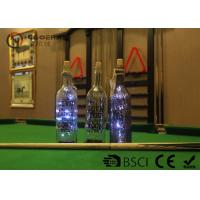 China Fashionable Wine Bottle Led Lights , Wine Bottle Lights Battery Operated wholesale
