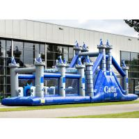 China Playground Adult Inflatable Obstacle Course Adrenaline Rush OEM Service wholesale