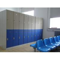 China Lightweight Double Tier Lockers , Blue Door Staff Room Lockers For Hospitals wholesale