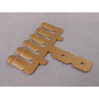 China Rapid Prototype Metal Stampings , Brass Stamping Parts For Injection Mold Industry on sale