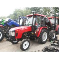 China Hydraulic Steering 4 Wheel Tractor 50hp For Garden / Paddy , Diesel Engine on sale