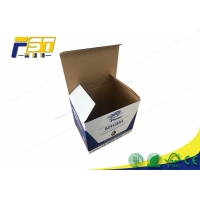 Buy cheap CMYK Pantone Corrugated Paper Shipping Boxes C2S Board from wholesalers