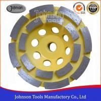 China Soft Medium Hard Bond Diamond Grinding Wheels For Fast Grinding Double Row wholesale