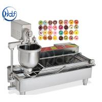 China Professional Automatic Donut Maker Machine , Commercial Mini Donut Fryer Machine on sale