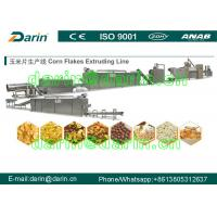 China Kelloggs Corn Flakes Processing Line / rice flakes making machine with 1 year warranty wholesale