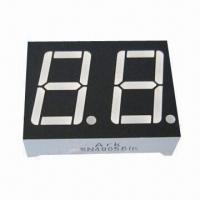 China 0.56-inch Dual-digit 7 Segment LED Numeric Display, Suitable for Digital Indicators wholesale