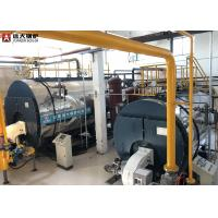China 350Kw / 700Kw Oil Fired Hot Water Boiler Horizontal Automatic Running wholesale