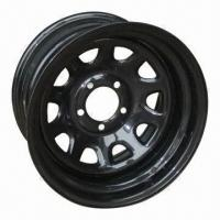 China 15 x 6 SUV Steel Wheel Rims, Trailer Tires, Made in China on sale