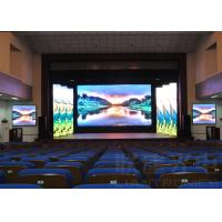 China SMD3535 p10 led panel RGB , slim Led Video Display Board For Meeting Room wholesale