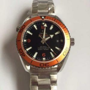 Omega Seamaster Series 232.30.42.21.01.002 Orange Bezel Men Automatic Watch
