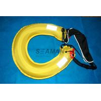 China Inflatable Lifebuoy Ring 110N Buoyancy Personal Flotation Device Water Rescue Ring wholesale