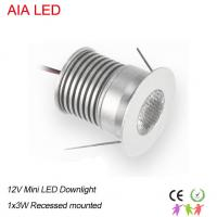 China 1W AC/DC12V IP42 LED spot light/LED led down lighting/led cabinet lamp for shops ceiling wholesale